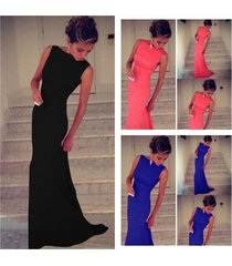 european sexy party dresses women's prom ball cocktail long dress slim maxi form
