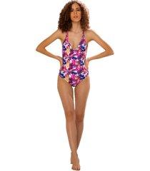 vestido de baño plumas möla beachwear lapa