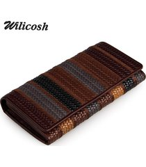 wilicosh women wallet and purse fashion genuine leather wallets luxury coin purs