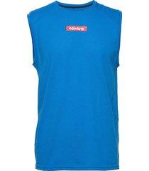 men's tank t-shirts sleeveless blå newline