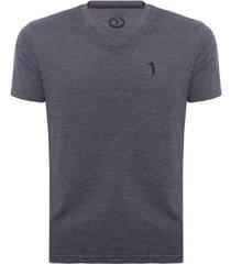camiseta aleatory gola v básica masculina - masculino