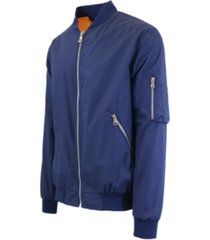 galaxy by harvic men's ma-1 lightweight bomber flight jacket