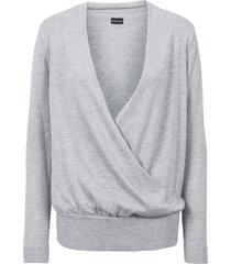 maglione incrociato (grigio) - bodyflirt