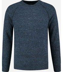 dstrezzed pullover donkerblauw melange 405292/649