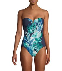 floral isles 1-piece swimsuit