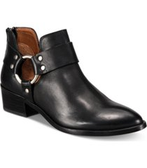 frye women's ray harness leather booties women's shoes