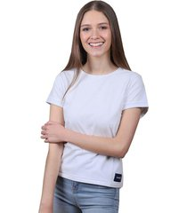 camiseta blanca de algodón - domenica
