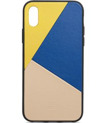 clic marquetry iphone x case