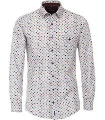 casa moda shirt grijs met stippen