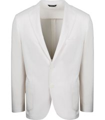 tonello jacket with knit pattern