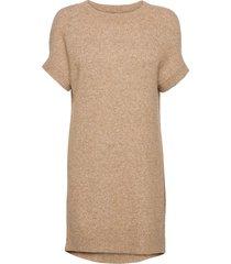 5210 - izadi dress kort klänning beige sand