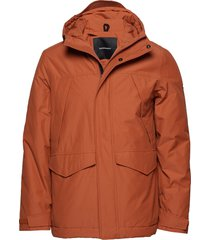 gather j outerwear sport jackets orange peak performance