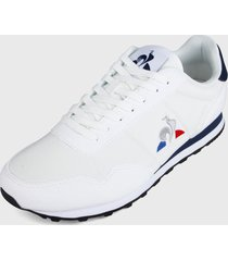 tenis lifestyle blanco-azul le coq sportif astra sport,