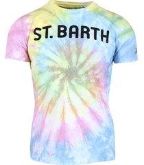 mc2 saint barth sb tie dye t-shirt