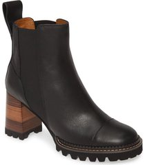 women's see by chloe mallory pull-on bootie