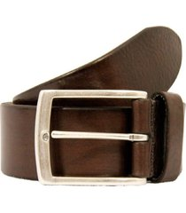 anderson belts plain leather belt | brown | af3018