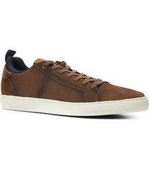 sapatênis couro shoestock básico masculino - masculino