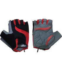 guante corto rojo/negro onwheels