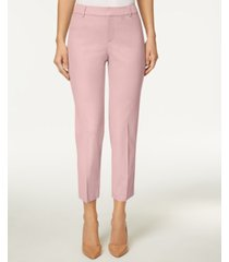 charter club newport tummy-control cropped pants, created for macy's