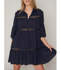 pareo admas zomerse tuniek met driekwart mouwen shirt