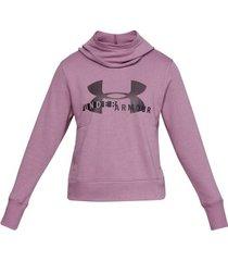 under armour rival fleece logo hoodie 1321 * gratis verzending * * actie *
