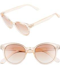 women's seafolly fingal bay 48mm round cat eye sunglasses -
