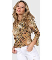 blusa animal print asterisco fresno