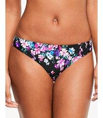 dahlia classic floral bikini bottom