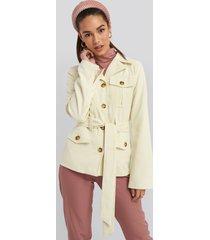 na-kd trend detailed blazer - beige