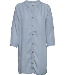 pzdonatella shirt tunika blå pulz jeans