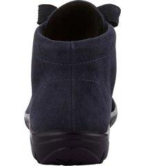 skor av mjukt skinn naturläufer mörkblå
