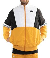 chaqueta hombre 222 banda darren kappa amarillo kappa