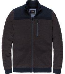 vanguard zip jacket cotton bonded vkc206372/8233
