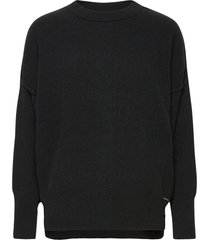 anf womens sweaters stickad tröja svart abercrombie & fitch