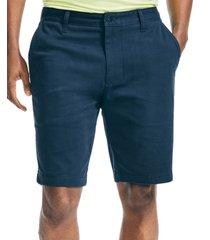 """nautica men's 10"""" classic-fit deck shorts"""