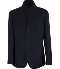 hand-finished lightweight cashmere jacket-style outerwear