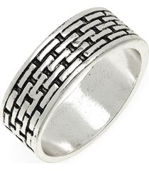 men's nordstrom men's engraved metal band ring