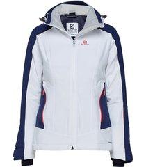 brilliant jkt w outerwear sport jackets vit salomon