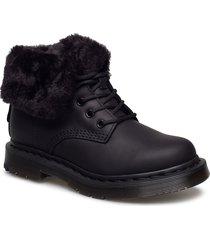 1460 kolbert shoes boots ankle boots ankle boots flat heel svart dr. martens