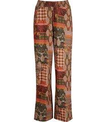 pantaloni a palazzo con spacchi laterali (verde) - bpc bonprix collection