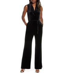 women's vince camuto velvet jumpsuit