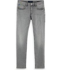 scotch & soda 159630 4066 skim slim fit jeans silver tongued -