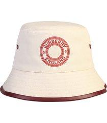 burberry branded bucket hat