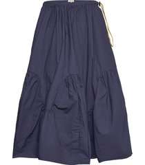 saada knälång kjol blå baum und pferdgarten