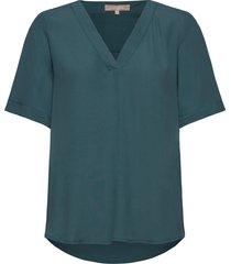 quinn 2/4 top t-shirts & tops short-sleeved grön soft rebels