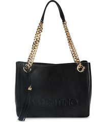 luisa sauvage leather shoulder bag