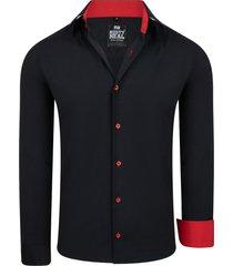 rusty neal heren overhemd black series red