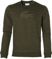 lacoste pullover - slim fit - groen