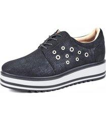 oxford zapato alaia negro eda manzini