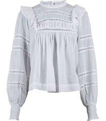 harmon voile blouse